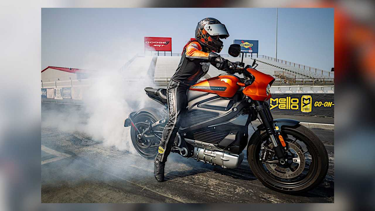 Harley-Davidson LiveWire Indianapolis Speed Record Run