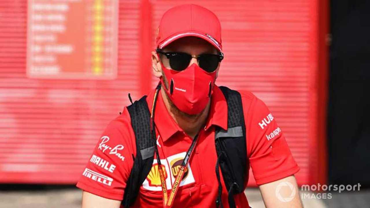 Sebastian Vettel at Tuscany GP 2020