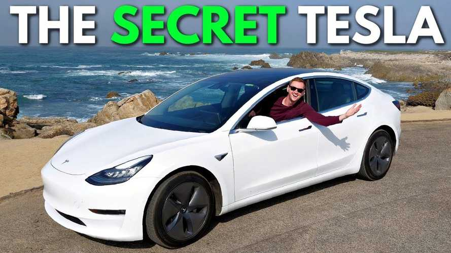 Taking Tesla's 'Secret' Model 3 On A Tour Of California