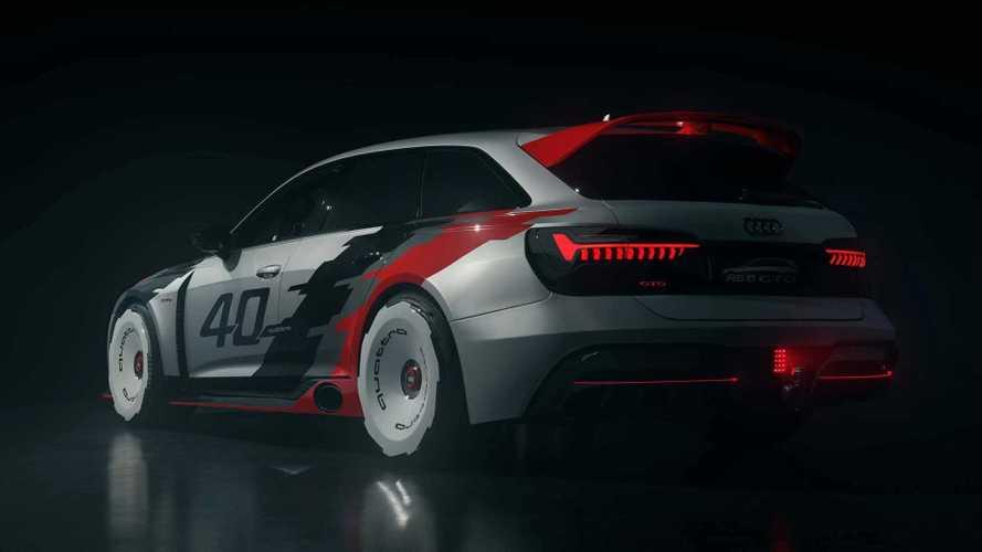 Este Audi RS6 GTO es un prototipo retro con sabor ochentero