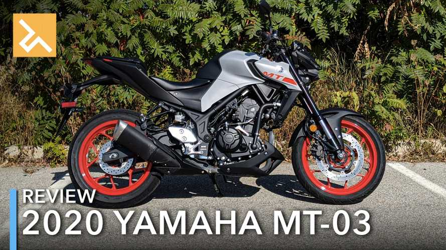 2020 Yamaha MT-03 Review: Unadulterated Naked Fun