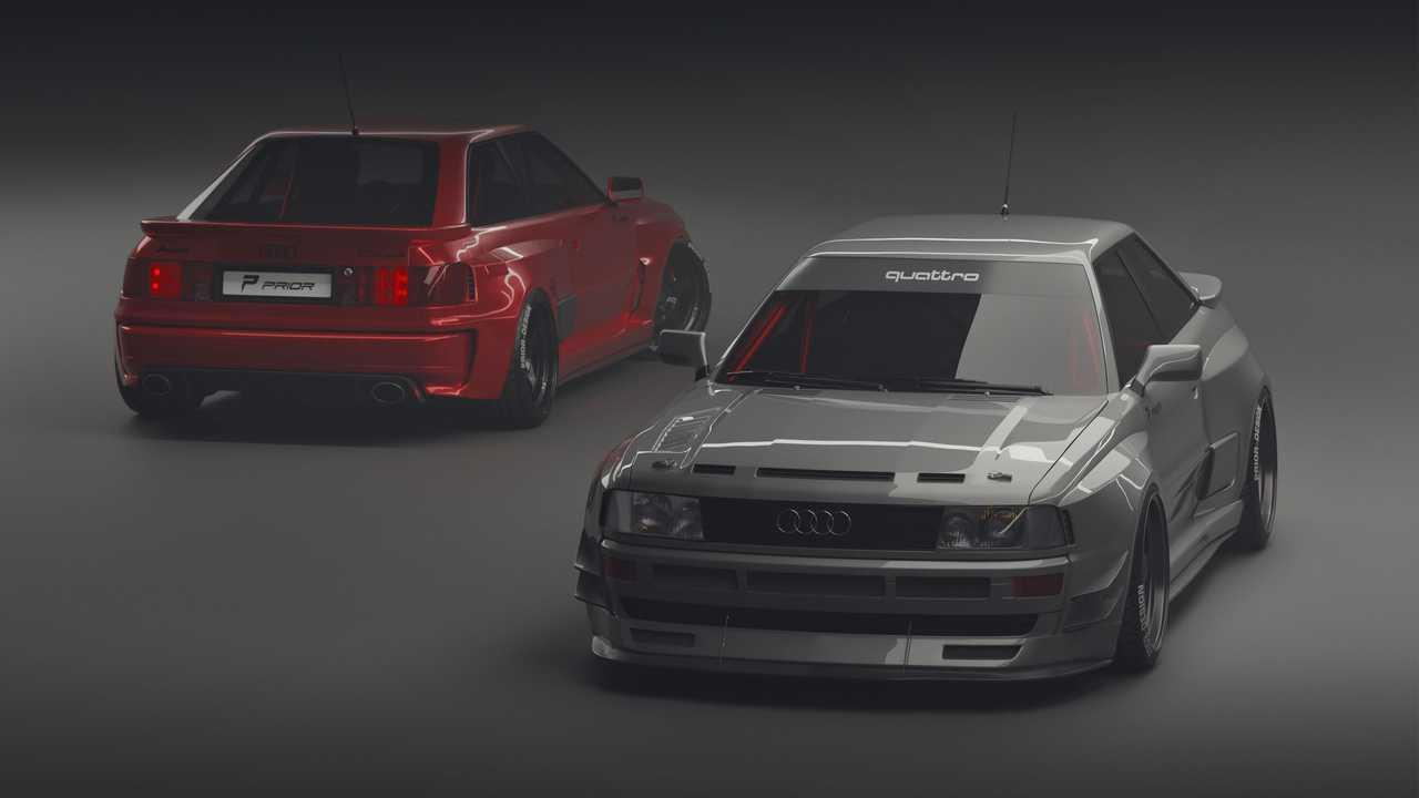 Progettazione PRIOR Audi RS 2 Coupé