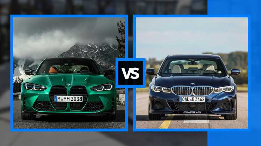 BMW M3 vs Alpina B3