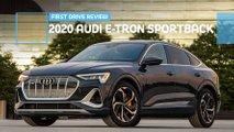 2020 audi e tron sportback first drive