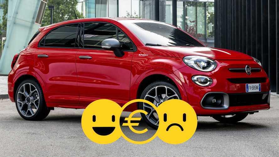 Promozione Fiat 500X Anticipo zero