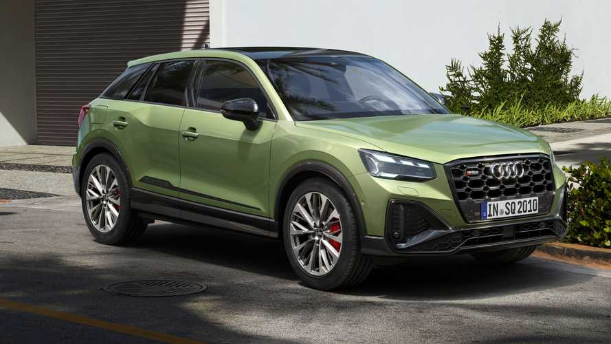 2021 Audi SQ2 Gets An Early Facelift, But No Extra Power