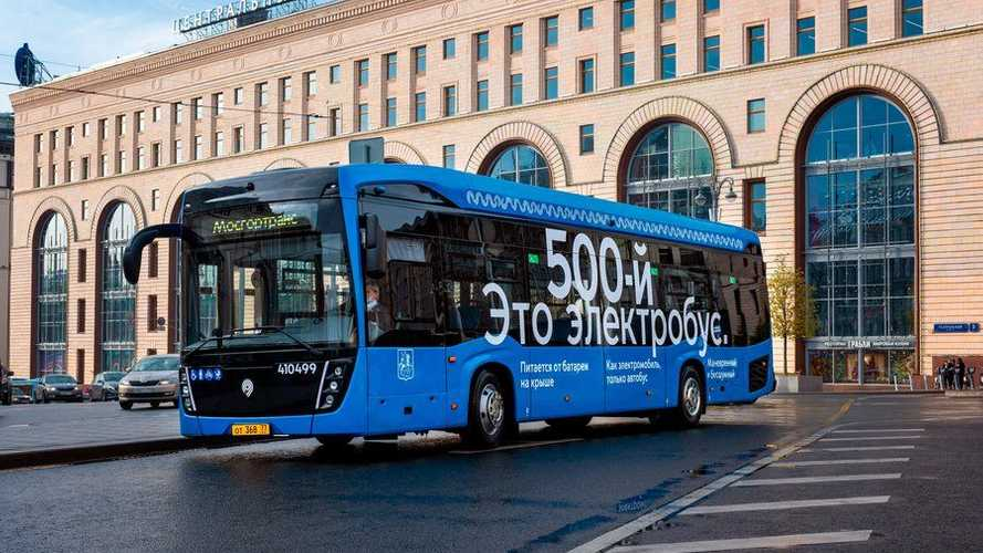Moscow Already Has Over 500 Electric Buses