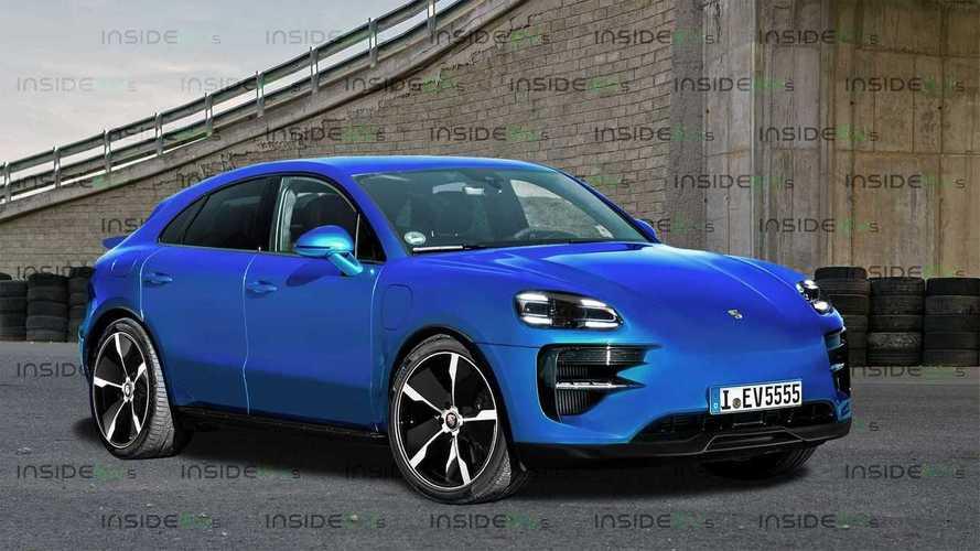 Porsche Macan elétrico terá estilo SUV-coupé conforme antecipa projeção