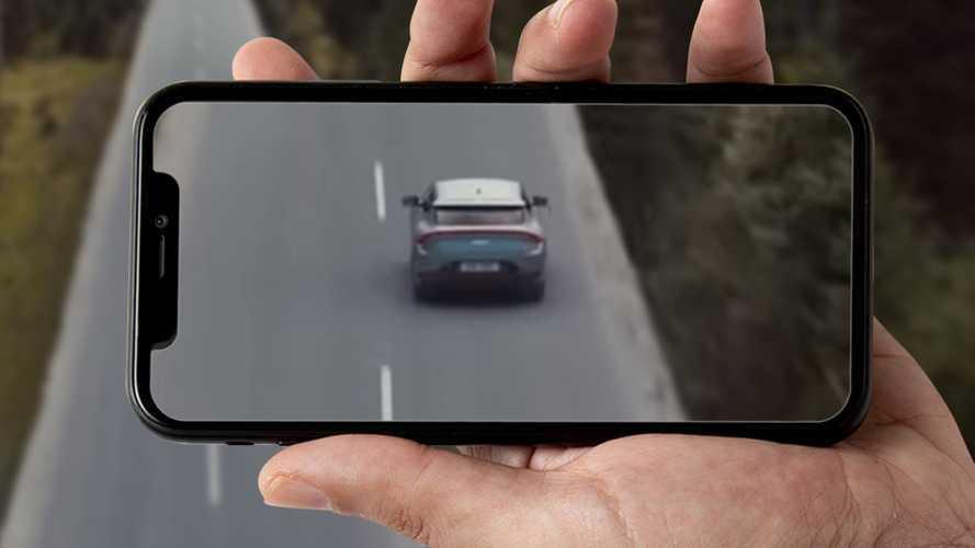 La nuova auto elettrica di Kia si mostra in un video