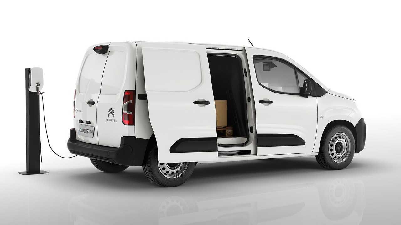 Citroën ë-Berlingo Van, porta laterale scorrevole