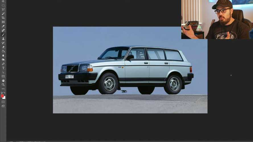 Volvo 240 SUV Rendering