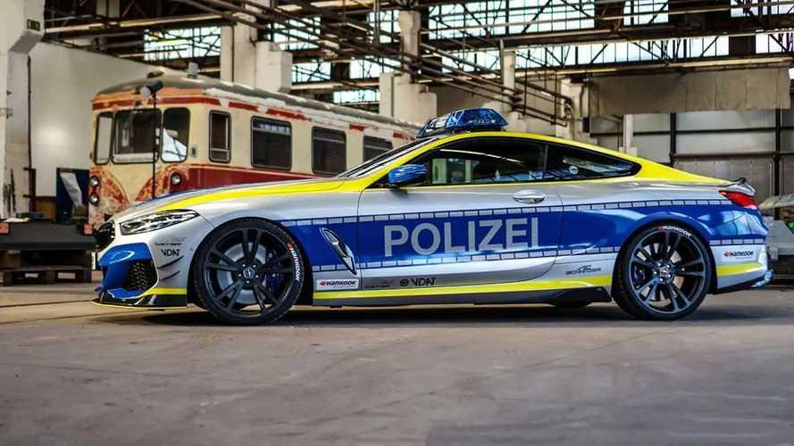 BMW M850i police car by AC Schnitzer