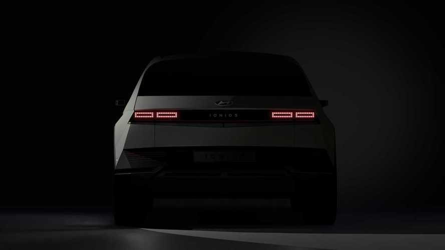 Teaser Hyundai Ioniq 5 2022 Electric Vehicle