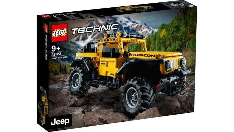 Lego Technic Jeep Wrangler Rubicon