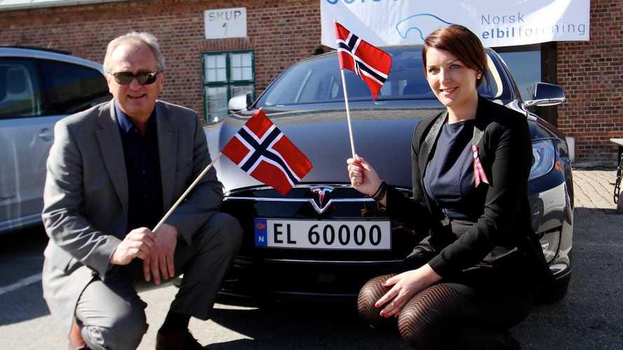 Norvegia da record: nel 2020 il 54% delle auto vendute è elettrico