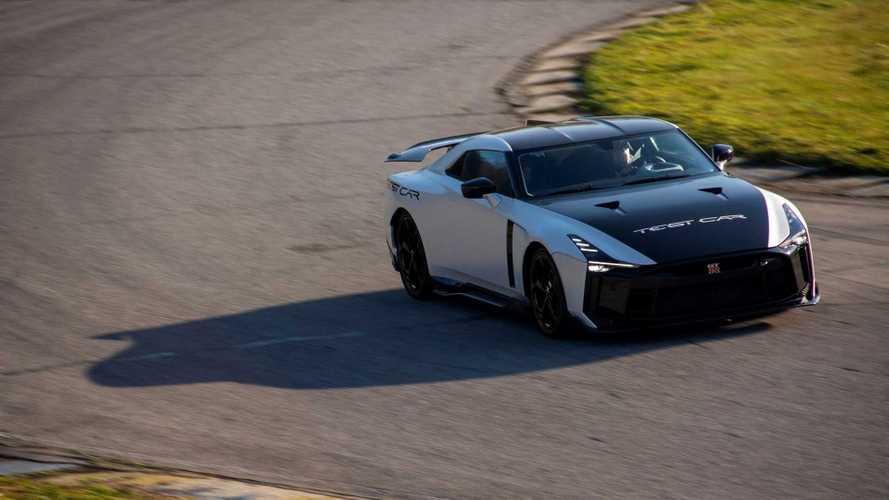 Japánba tart az Italdesign Nissan GT-R 50-esének prototípusa: valami készül