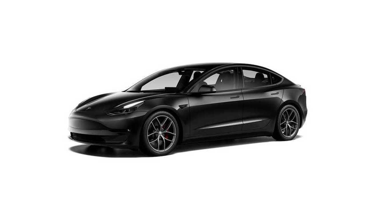 Tesla Model 3 Performance (MIC) (design studio China)