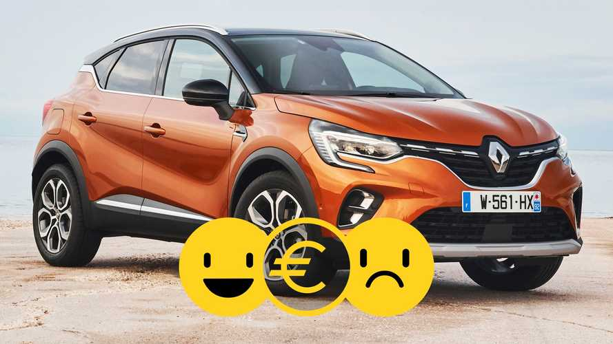 Promozione Renault Captur Plug-In Hybrid, perché conviene e perché no
