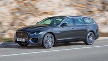 jaguar xf 2021 kombi facelift motoren