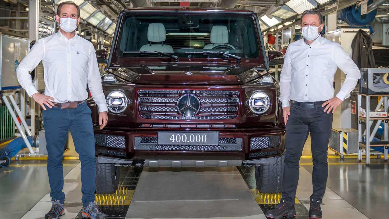 Mercedes G-Class production milestone
