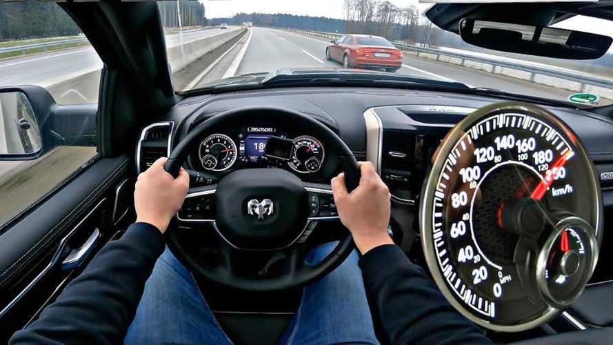 Ram 1500 Laramie Sport Puts Hemi V8 To Work In Autobahn Top Speed Run