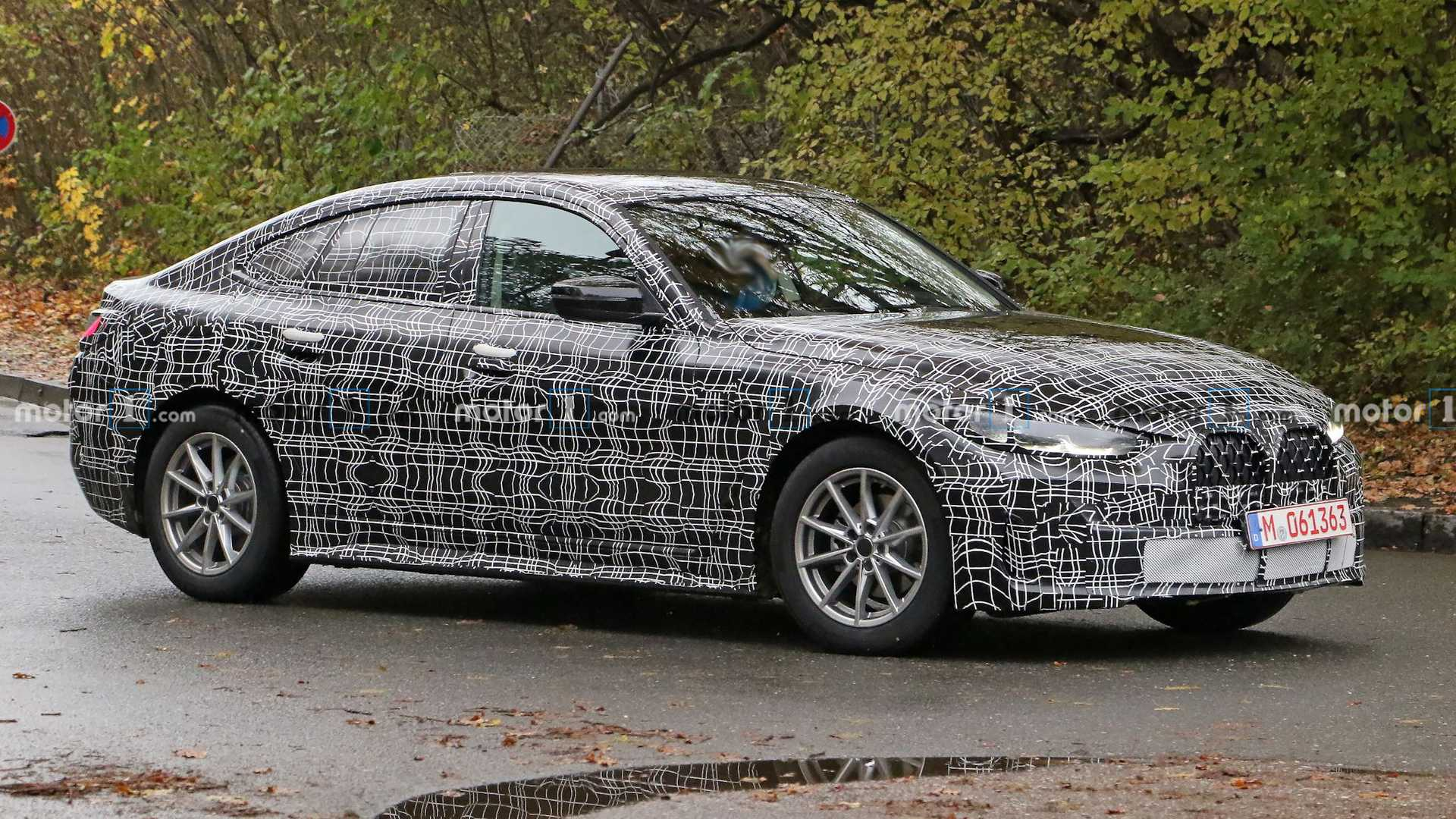 BMW 4 Series Gran Coupe Spy Photos Show Sedan Is Nearing Its Reveal