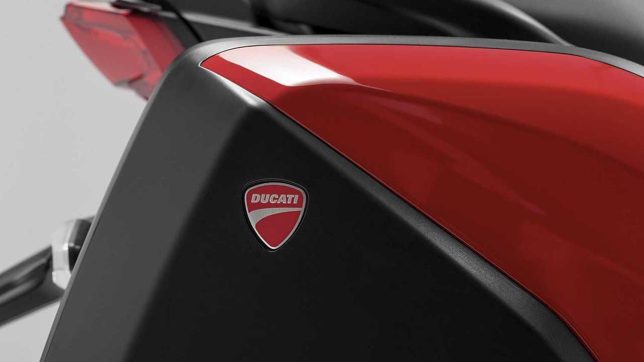 2021 Ducati Multistrada V4, Detail, Badge