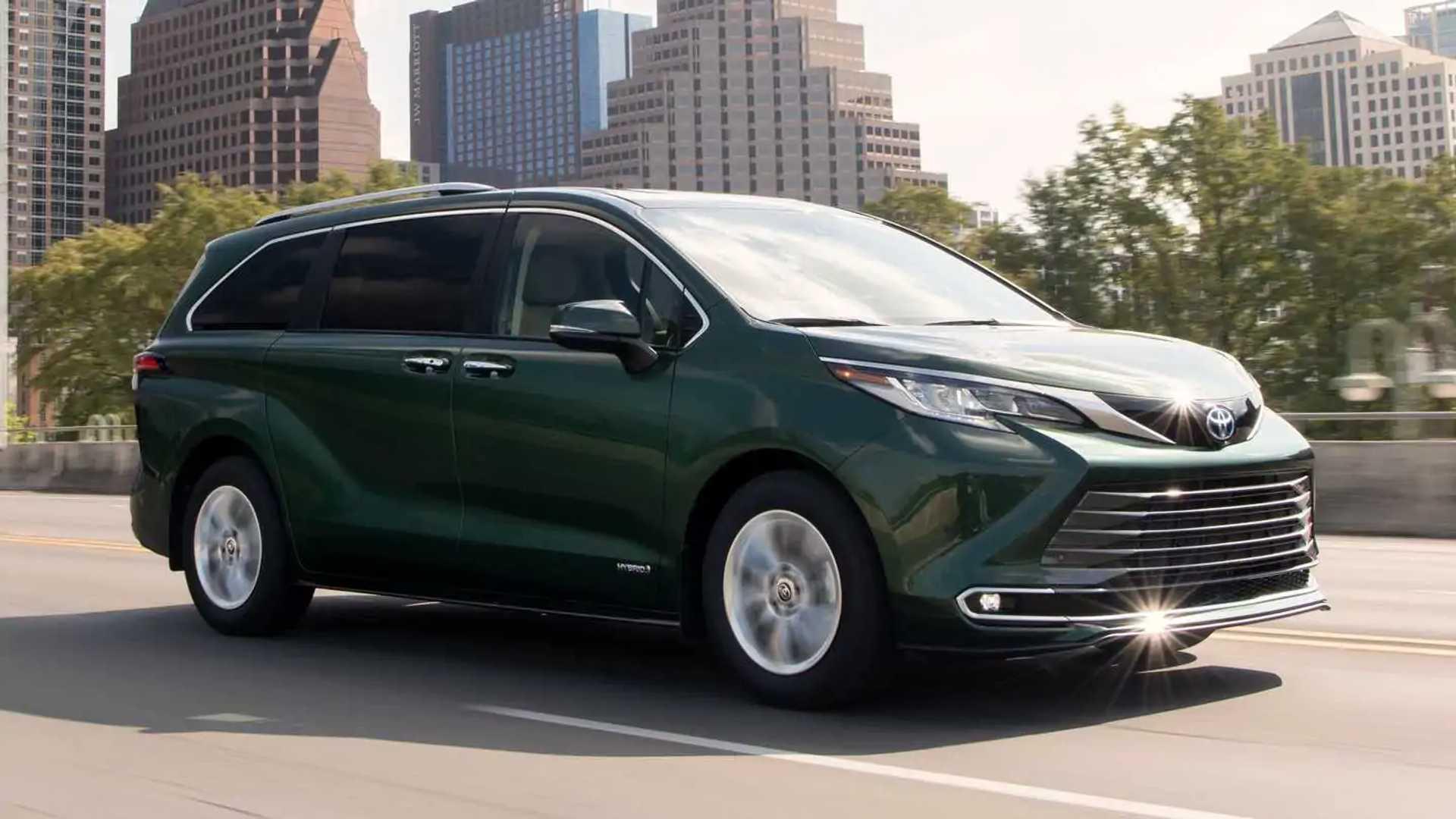 Revisión de 2021 Toyota Sienna