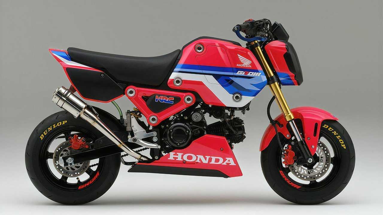HRC Honda Grom Race Kit Right Side