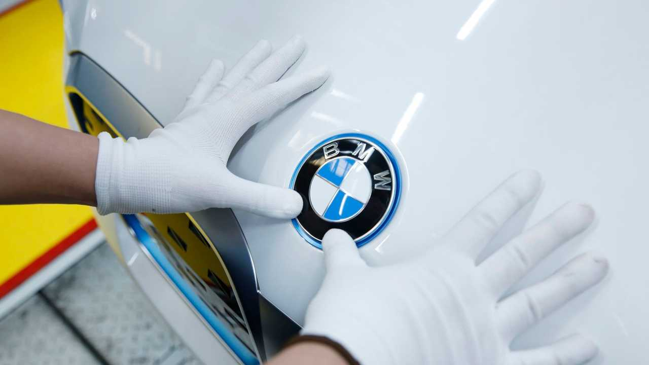 Production BMW iX3 à Shenyang, Chine