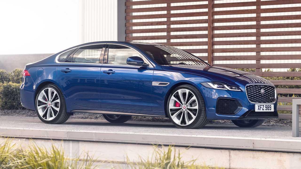 2021 Makyajlı Jaguar XF