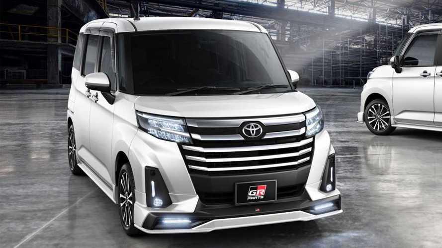 Toyota, bu ufak minivan modeline bile GR dokunuşları yapacak