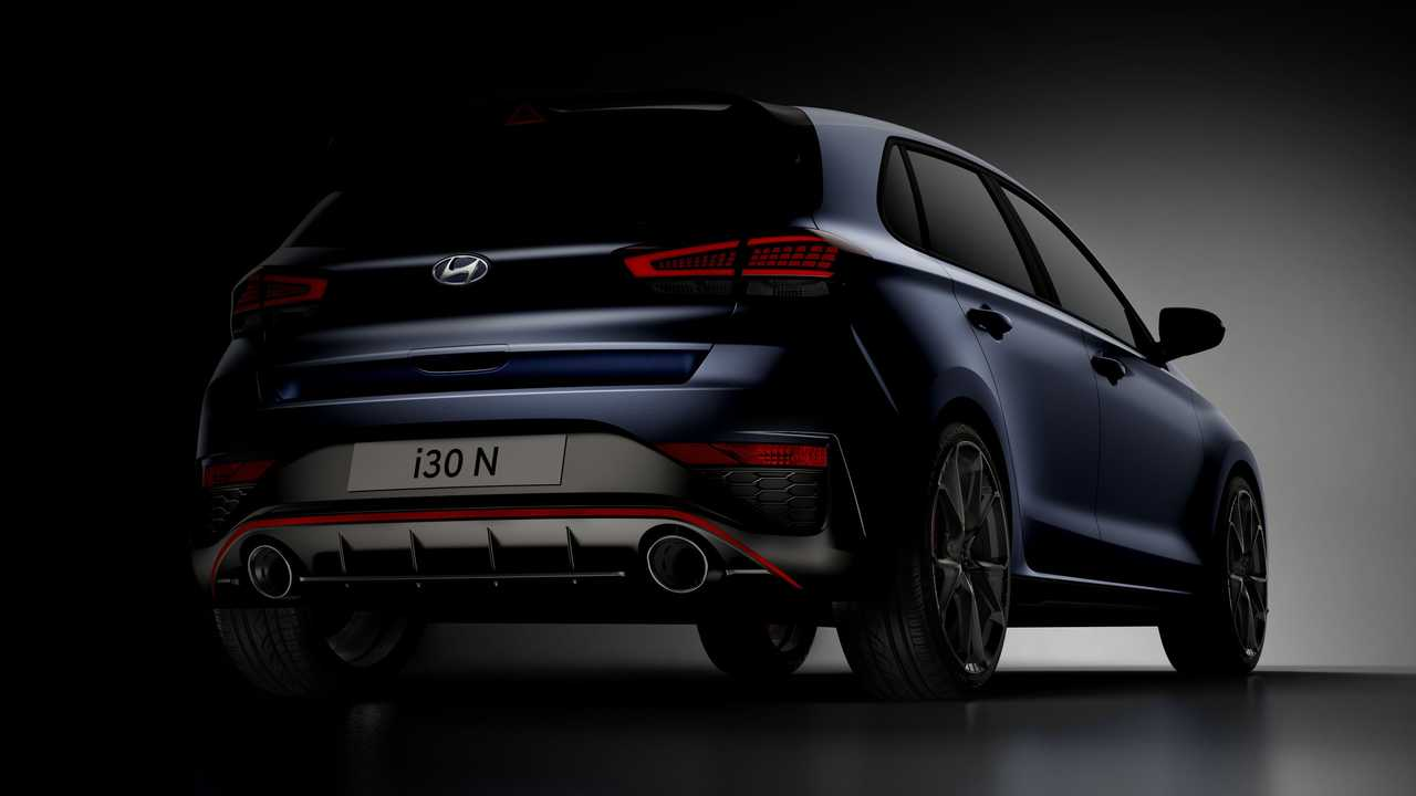 Hyundai i30 N, le prime immagini del restyling