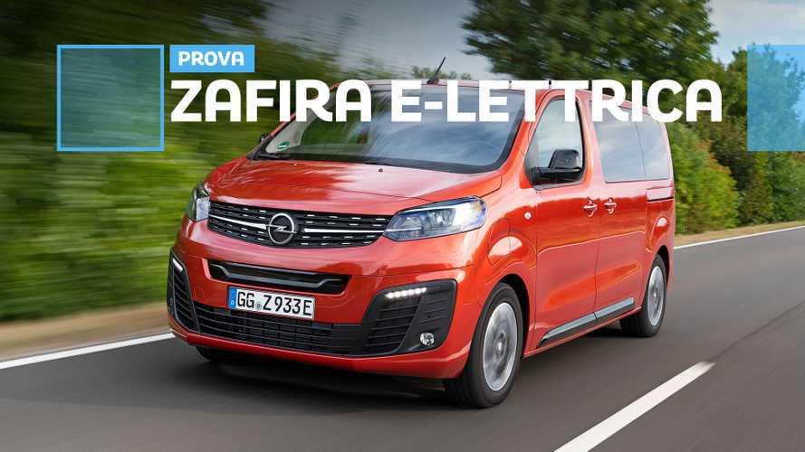 Opel Zafira-e Life, il multispazio elettrico alla prova dei fatti