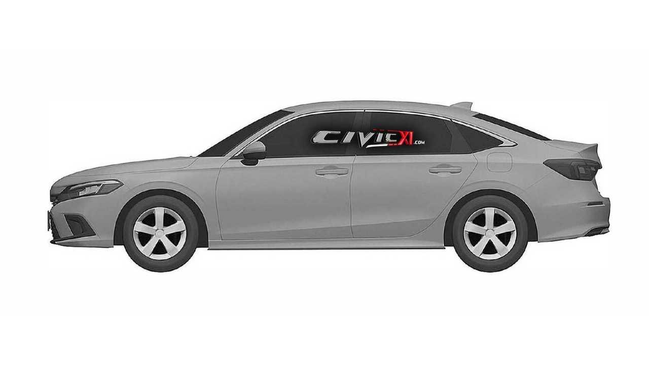 2021 Honda Civic Sedan tasarımı sızdırılan görseller