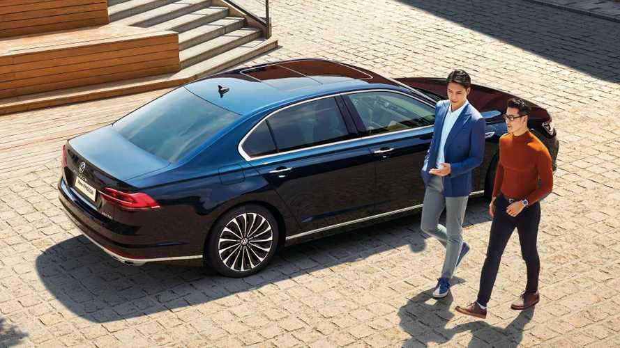 Así es el Volkswagen Phideon 2021, una especie de Phaeton para China