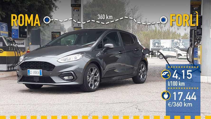 Ford Fiesta EcoBoost MHEV 2020: prueba de consumo real