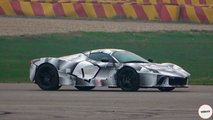 laferrari successor spy video