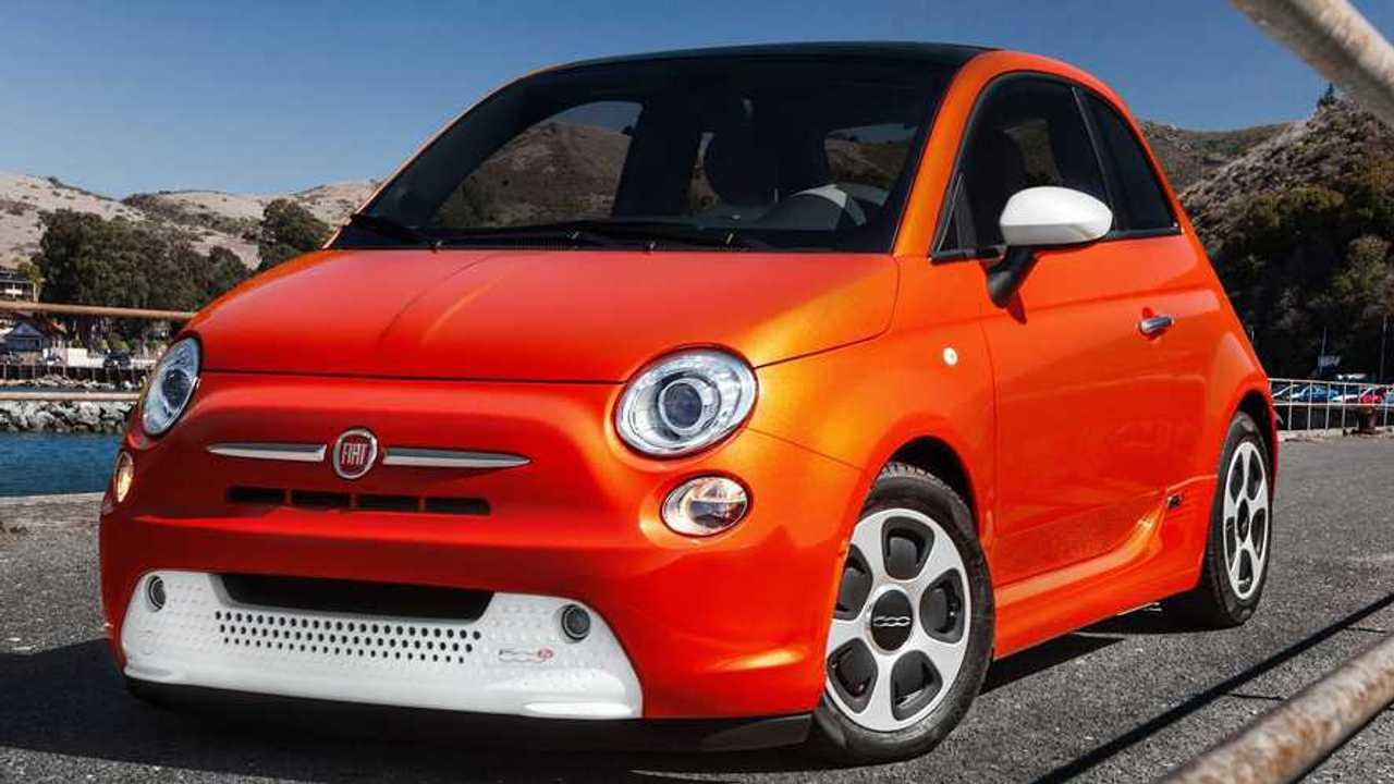 Fiat 500e Ön