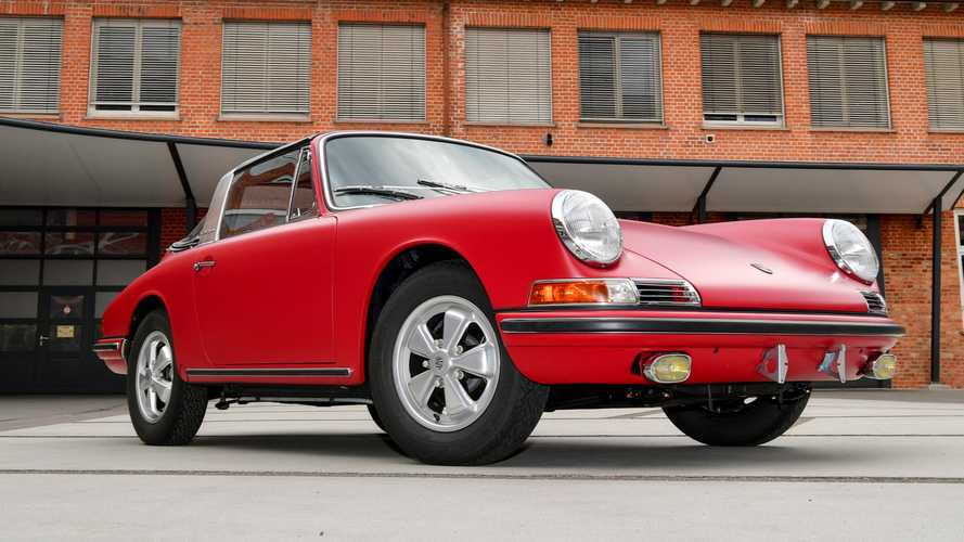 First Porsche 911 S Targa in Germany restored to factory new condition