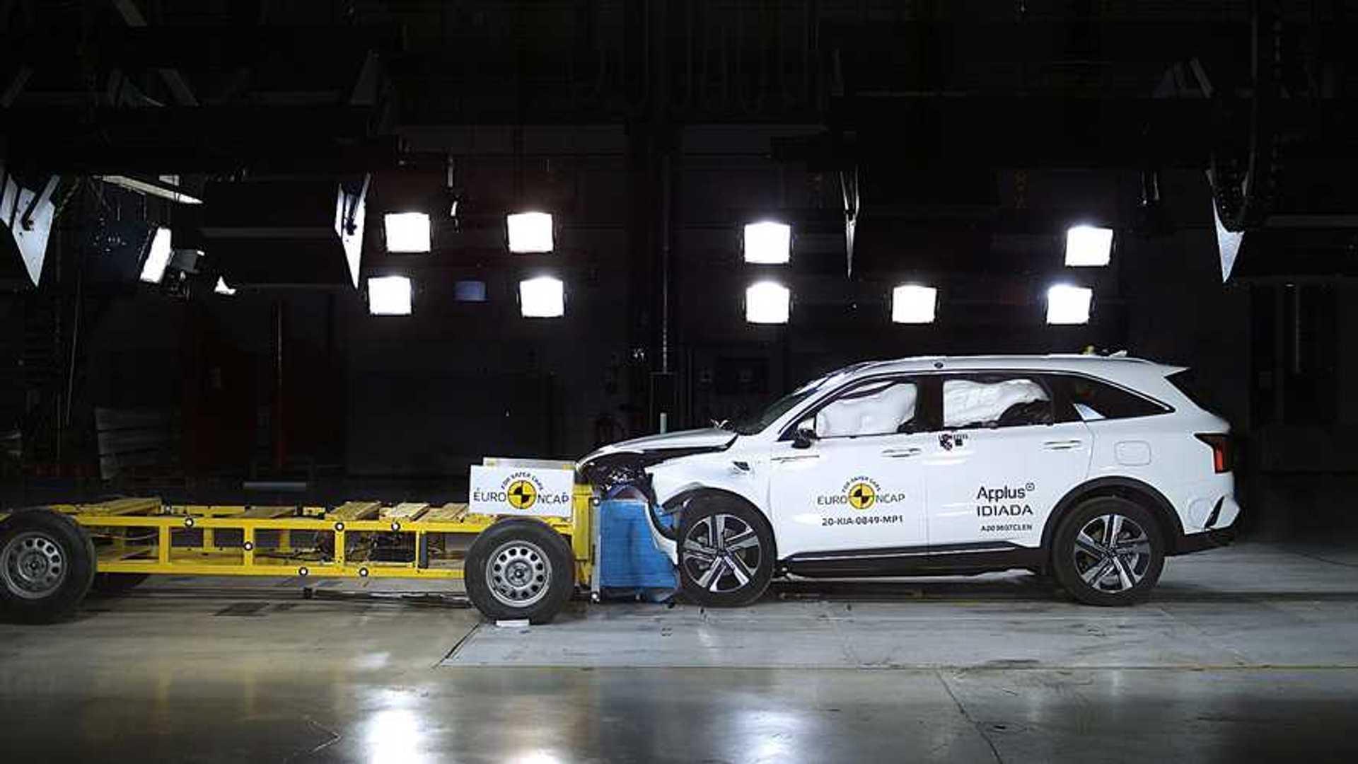 Nuova Kia Sorento, i crash test Euro NCAP