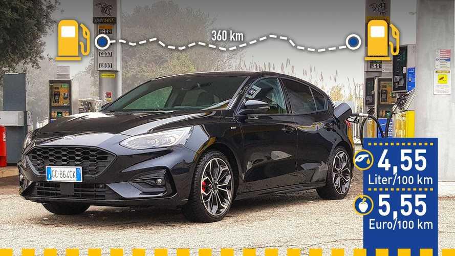 Tatsächlicher Verbrauch: Ford Focus mit 155-PS-Mildhybrid-Benziner im Test