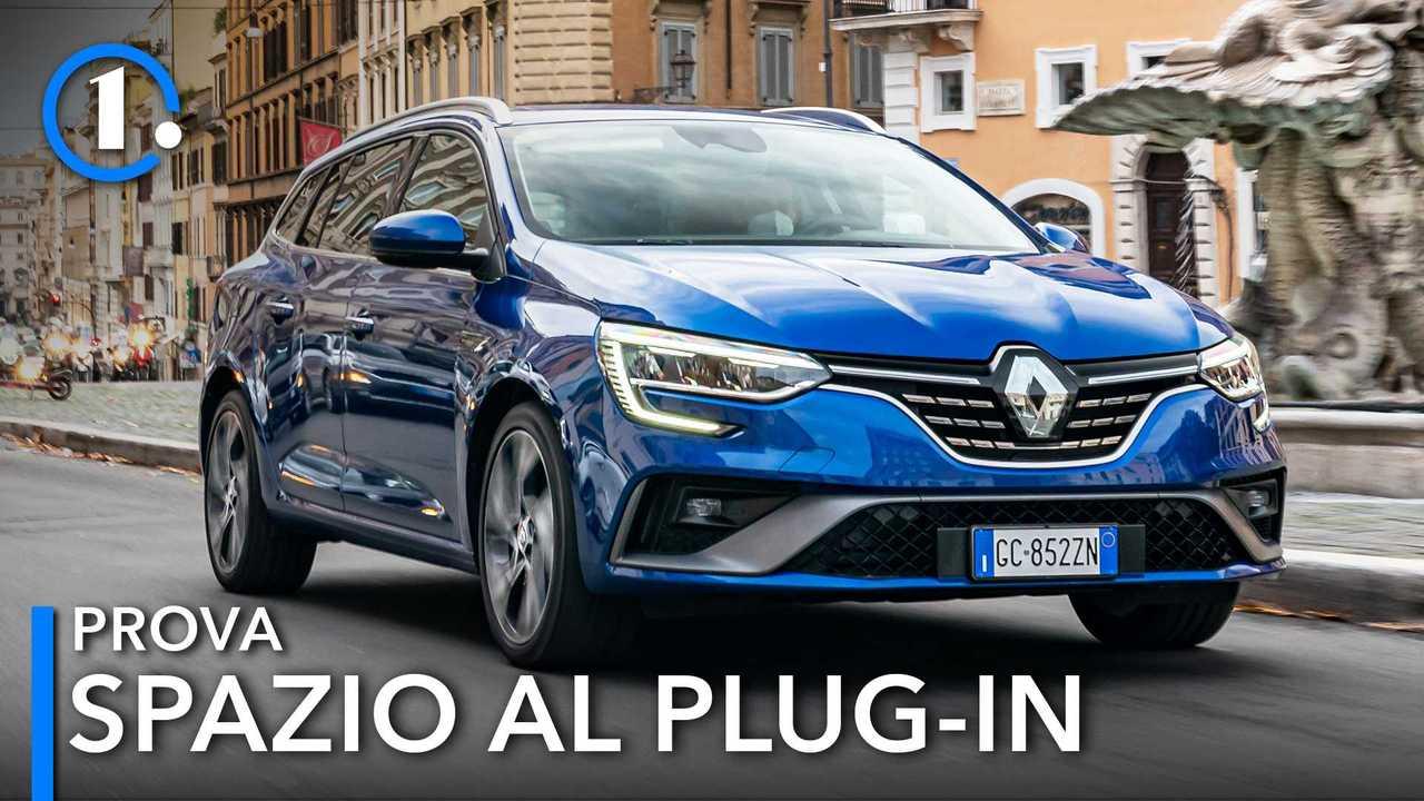 Renault Megane Sporter E-TECH Plug-in Hybrid, la prova