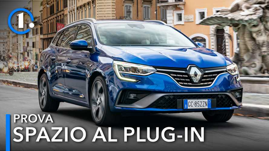 Renault Megane Sporter E-Tech, la prova dell'ibrida plug-in