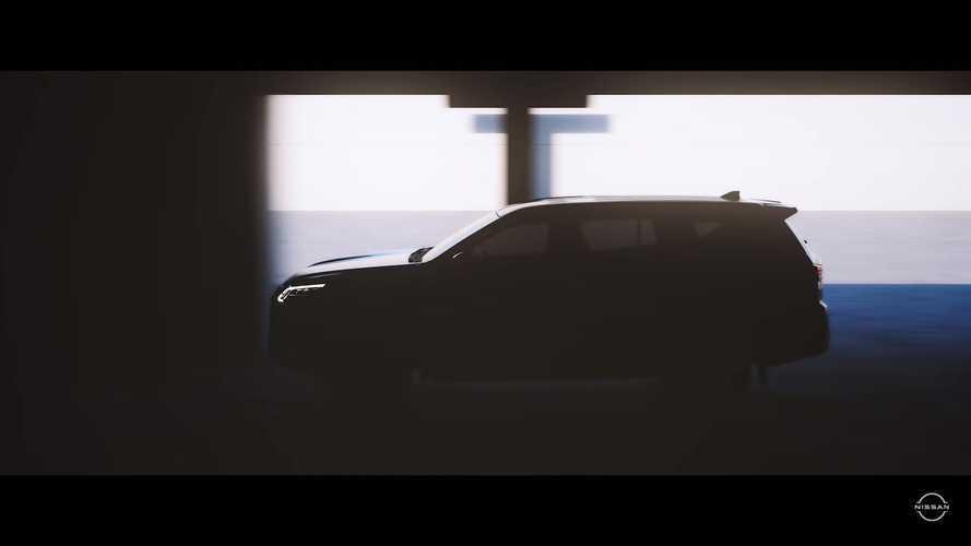 Makyajlı 2021 Nissan Terra teaser