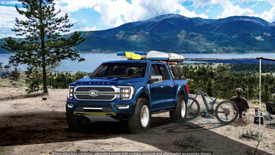 Ford F-150 Limited Hybrid By BDS Concept SEMA