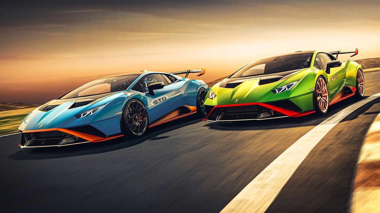 Lamborghini Huracan STO (2020), вид спереди