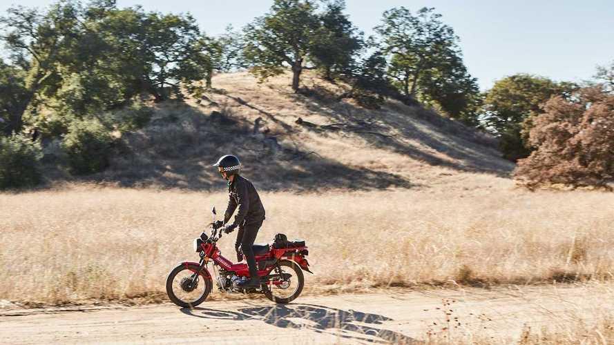 Honda Trail 125 2021, prova su strada e fuori strada