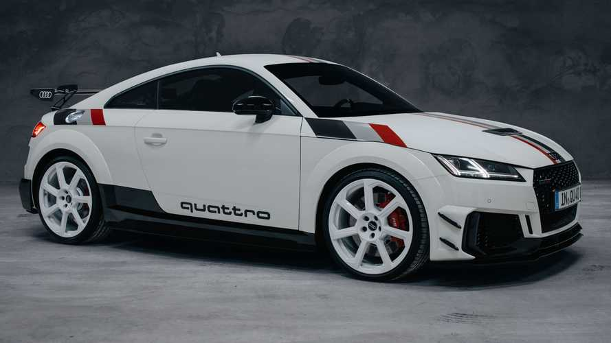 Audi TT RS 40 Years Of Quattro debuts with retro look, huge price tag