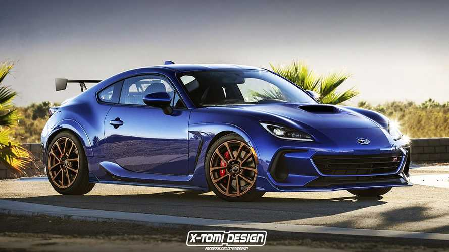 Subaru BRZ STI And Cabrio Renderings By X-Tomi Design
